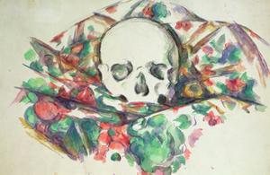 Skull on Drapery, C.1902-06 by Paul C?zanne