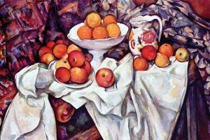 Still Life with Apples and Oranges by Paul C?zanne
