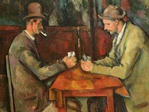The Card Players, 1893-96 by Paul C?zanne