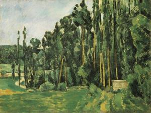 The Poplars (Les Peupliers) by Paul C?zanne