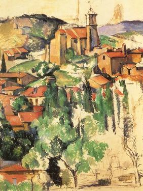 Village of Gardanne, 1885 by Paul C?zanne