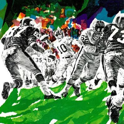 """""""Inside Pro Football,"""" September 21, 1968 by Paul Calle"""