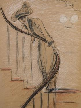 The Staircase by Paul Cesar Helleu