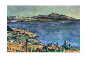 A Marseille, 1883-1885 by Paul Cézanne