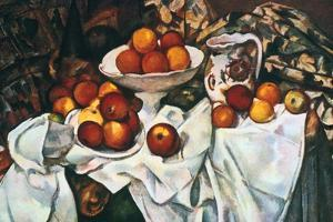 Apples and Oranges, 1895-1900 by Paul Cézanne