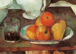 Apples and Pears by Paul Cézanne