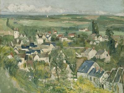 Auvers, Panoramic View, 1873-75