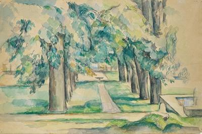 Avenue of Chestnut Trees at the Jas De Bouffan by Paul Cézanne