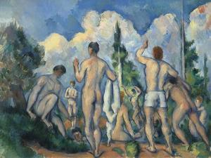 Baigneurs (Bathers) by Paul Cézanne