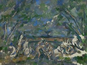 Bathers, 1902-1906 by Paul Cézanne