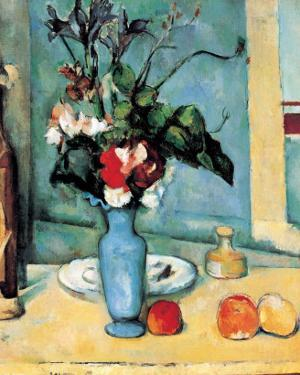 Blue Vase by Paul Cézanne