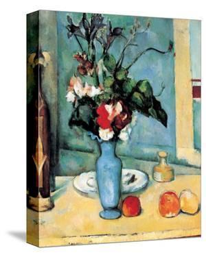Blue Vase by Paul Cézanne