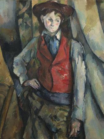 Boy in a Red Waistcoat, 1888-90