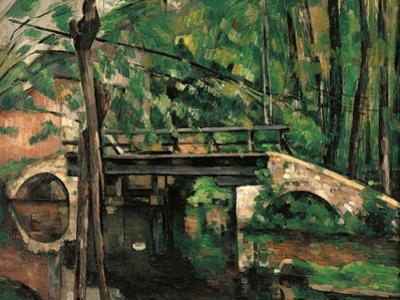 Bridge at Maincy, Melun by Paul Cézanne