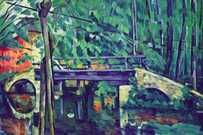 Bridge In The Forest by Paul Cézanne