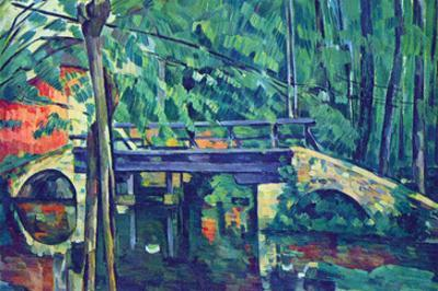 Bridge in the Forest by Paul Cézanne