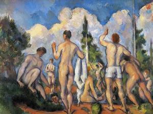 Cezanne: Bathers, C1890 by Paul Cézanne