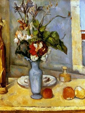 Cezanne: Blue Vase, 1885-87 by Paul Cézanne