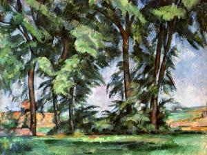 Cezanne: Trees, C1885-87 by Paul Cézanne