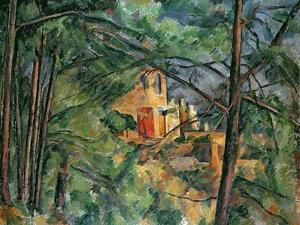 Chateau Noir, C.1904 by Paul Cézanne