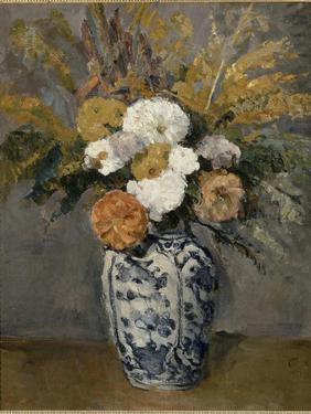 Dalhias by Paul Cézanne