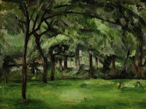 Farmhouse in Normandy, Summer (Hattenville), 1882 by Paul Cézanne
