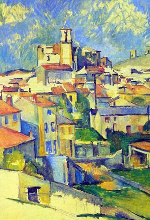 Paul Cezanne Gardanne Art Print Poster