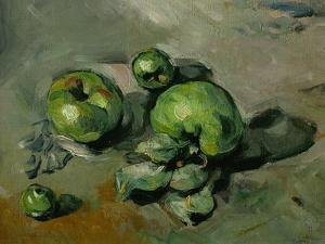 Green Apples, Around 1873 by Paul Cézanne