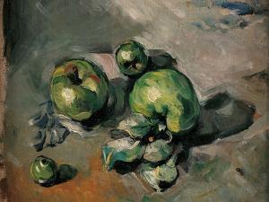 Green Apples by Paul Cézanne