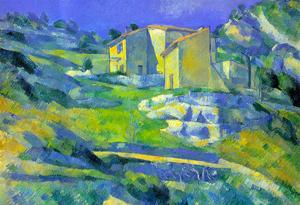 Paul Cezanne House in the Provence Art Print Poster