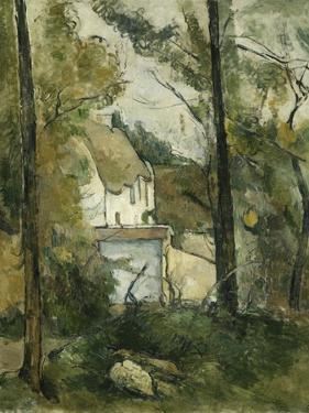 House in the Trees, Auvers; Maison Dans Les Arbres, Auvers, 1879 by Paul Cézanne