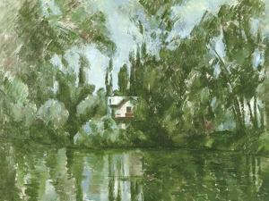 House on the Banks of the Marne, 1889-90 by Paul Cézanne
