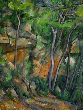 In the Park at Chateau Noir, 1898-1900 by Paul Cézanne