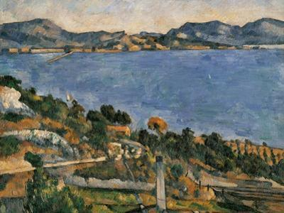 L'Estaque, View of the Bay of Marseille, 1878-1879 by Paul Cézanne