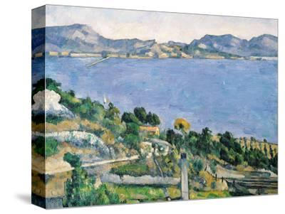 L'Estaque, View of the Bay of Marseilles, circa 1878-79 by Paul Cézanne