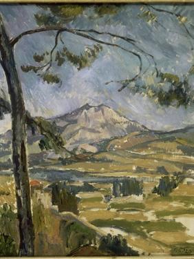 La montagne Sainte Victoire by Paul Cézanne
