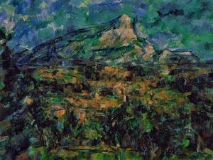 La Montaigne Sainte-Victoire, 1905 by Paul Cézanne