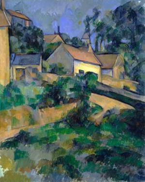 La Route Tournante À Montgeroult (Turning Road at Montgeroult) by Paul Cézanne