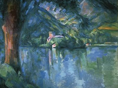 Lake Annecy by Paul Cézanne