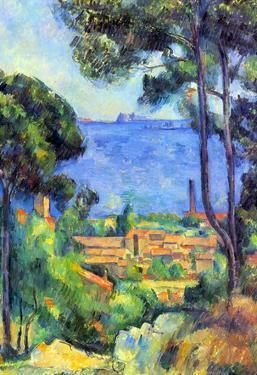 Paul Cezanne Landscape Art Print Poster