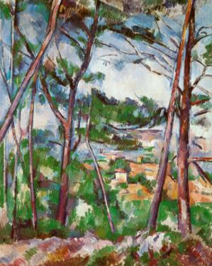 Landscape Near Aix by Paul Cézanne