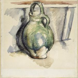 Le cruchon vert by Paul Cézanne