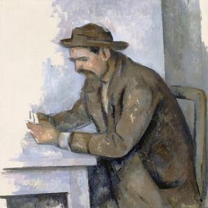 Le Joueur De Cartes (The Cardplayer) by Paul Cézanne