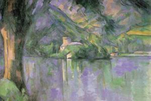 Le Lac Annecy by Paul Cézanne