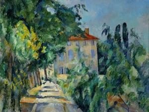 Maison Au Toit Rouge- House with a Red Roof, 1887-90 by Paul Cézanne