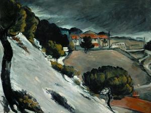 Melting Snow at L'Estaque, 1870-71 by Paul Cézanne