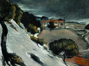 Melting Snow at L'Estaque, 1870-71 by Paul Cézanne