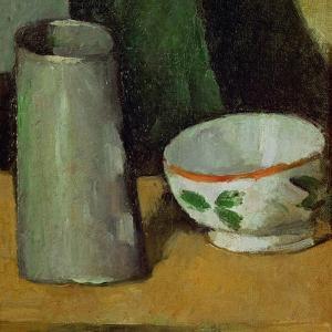 Milk Bowl and Jug, Around 1880 by Paul Cézanne
