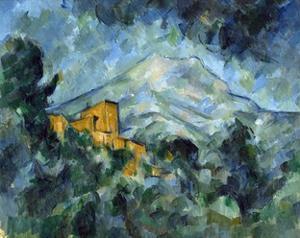 Mont Sainte-Victoire and Château Noir by Paul Cézanne