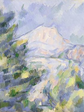 Mont Sainte-Victoire, c.1904-06 by Paul Cézanne